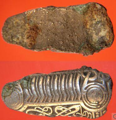 Skåleformet fibula fundet af David Barry