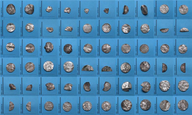 Sølvskat fundet med metaldetektor af Kenneth Rosen og Jacob Andersen