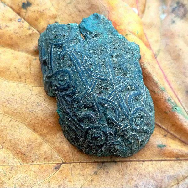 Skålfibula fundet af Marion Ciochina
