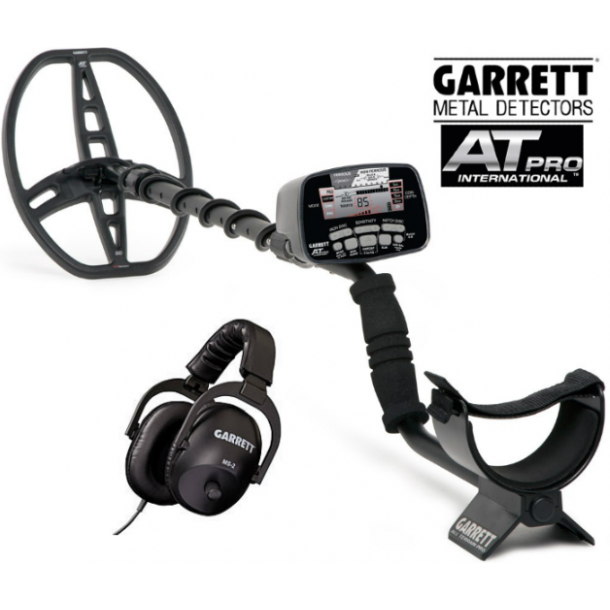 Garrett AT Pro + tilbehør + undervisnings DVD